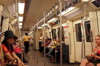 Поезд метро Бангкока MRT