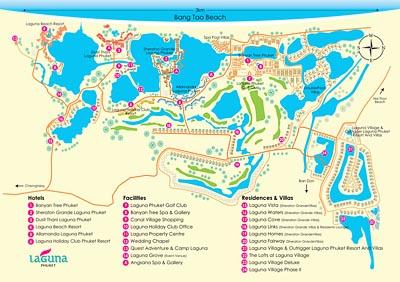 Карты пляжей Пхукета