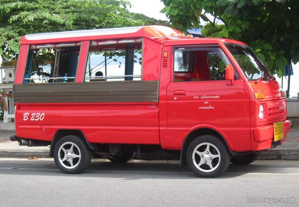 Транспорт на Ко Чанге такси тук-туки аренда байков и авто